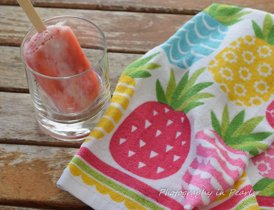 Pink Popsicle and Pneapple