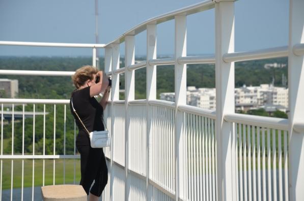 Me on Arthur Ravenell Bridge
