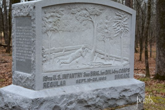 19th Us Infantry Monument
