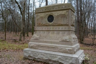 35th Indiana Monument
