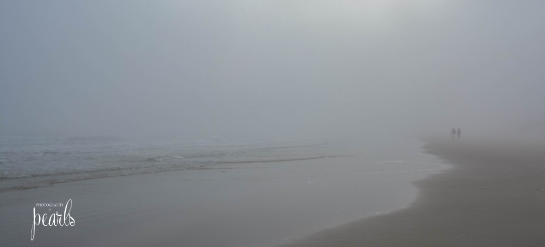 Fog on the Beach Couple