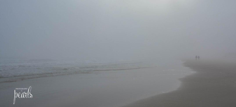 Fog on the Beach Couple